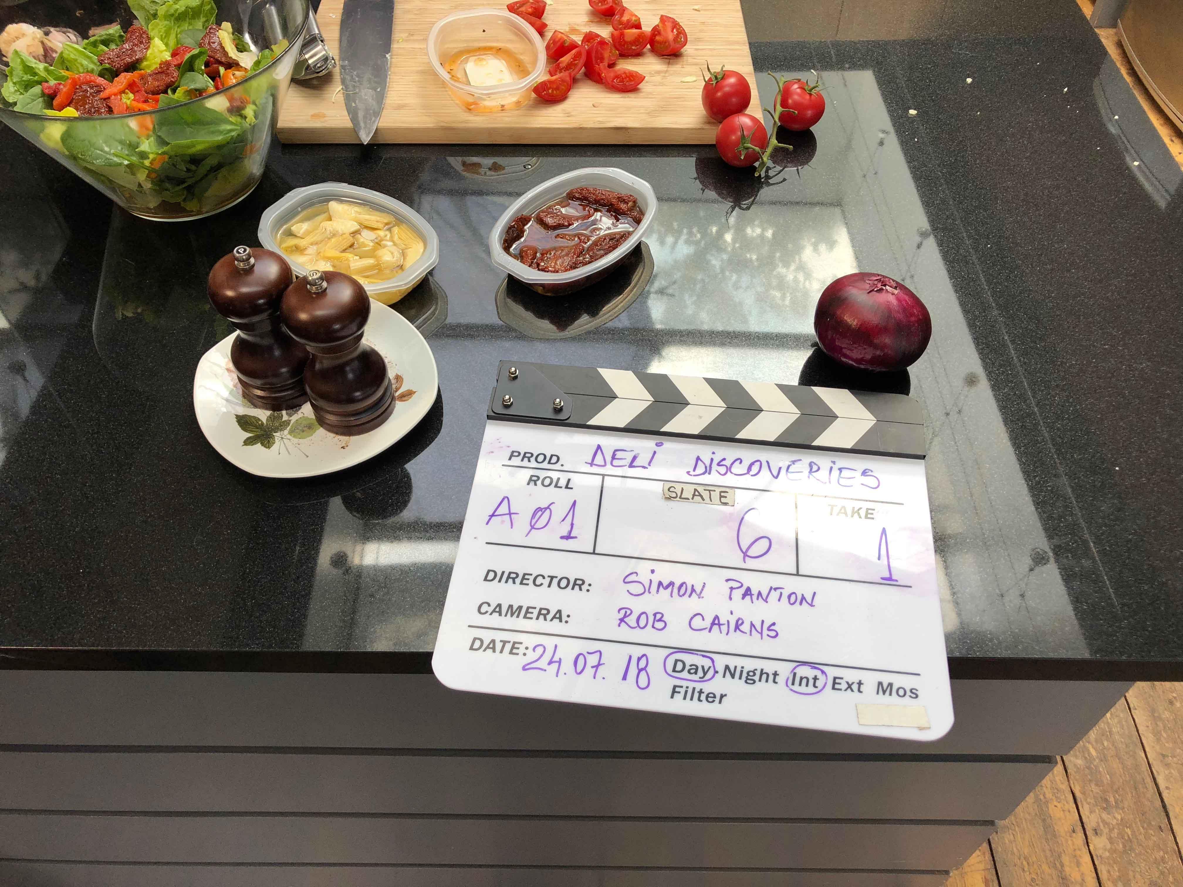 Filming Directors Cut Board